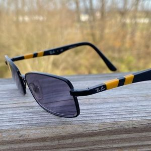 Ray-Ban black and yellow Rx glasses frames